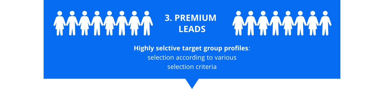 infographics premium leads
